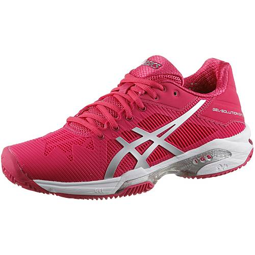 ASICS GEL-SOLUTION SPEED 3 CLAY Tennisschuhe Damen ROUGE RED/SILVER/WHITE  im Online Shop von SportScheck kaufen