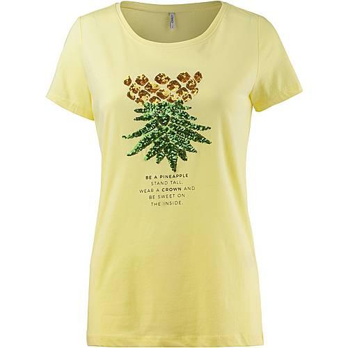 Only Kita T-Shirt Damen gelb