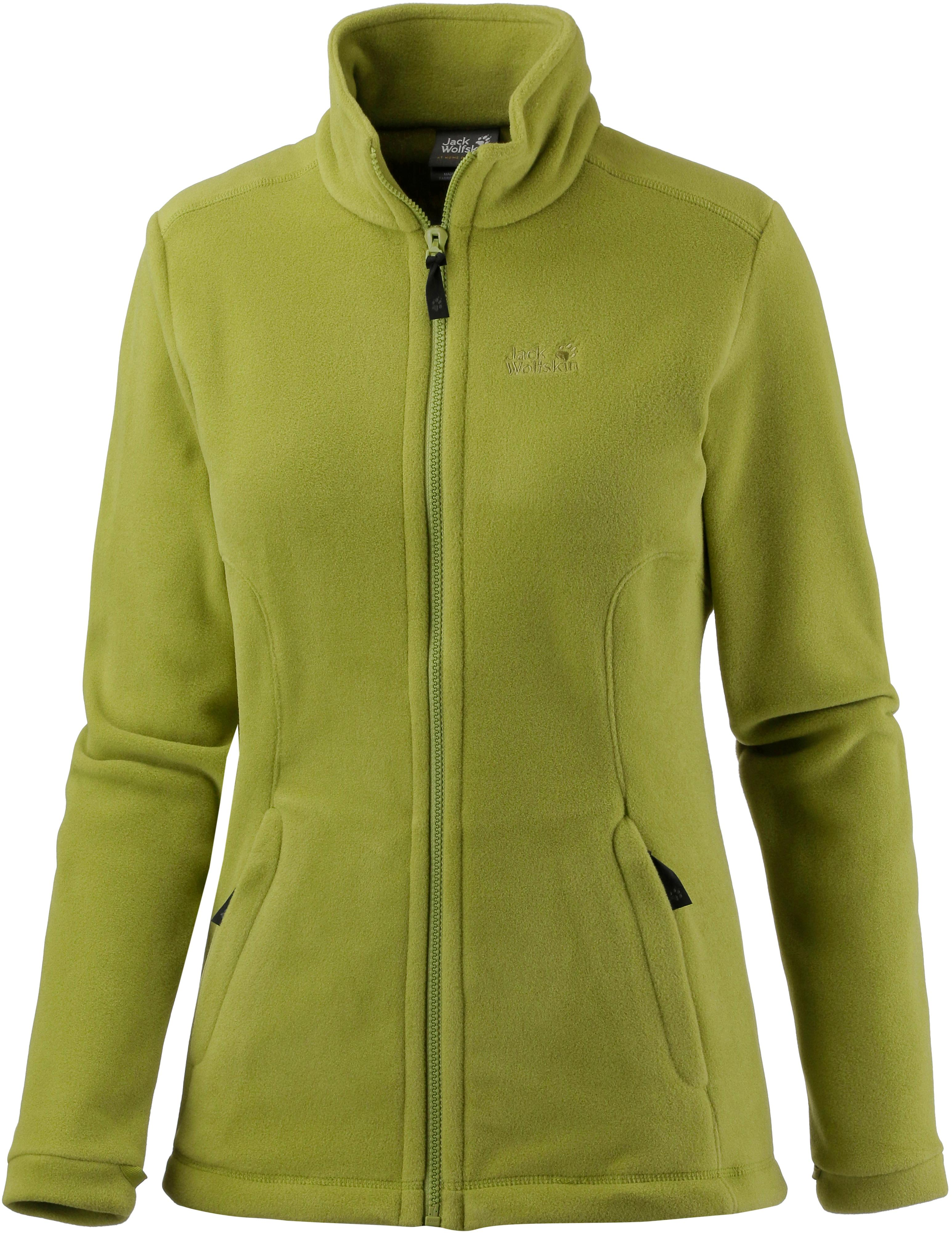 huge selection of 0d95f 7b472 Jack Wolfskin Midnight Moon Fleecejacke Damen green tea im Online Shop von  SportScheck kaufen