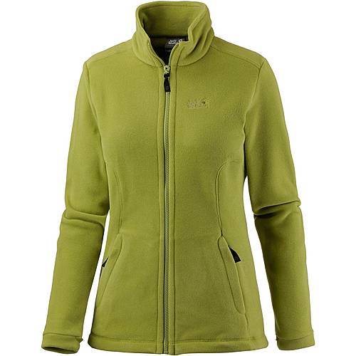 jack wolfskin midnight moon fleecejacke damen green tea im online shop von sportscheck kaufen. Black Bedroom Furniture Sets. Home Design Ideas