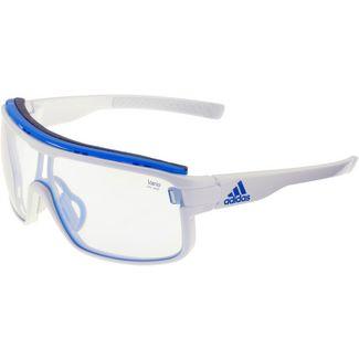 adidas Zonyk Sportbrille white shiny/vario blue