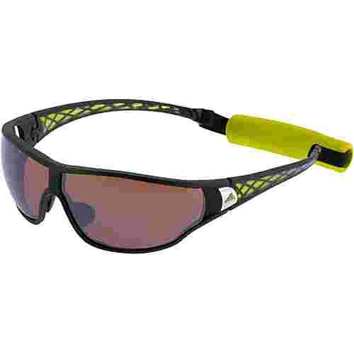 adidas Tycane Sportbrille matt black/lablime