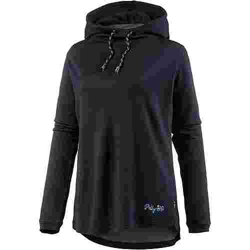 Pally Hi LIVELIHOODIE Merino Funktionssweatshirt Damen Bluek