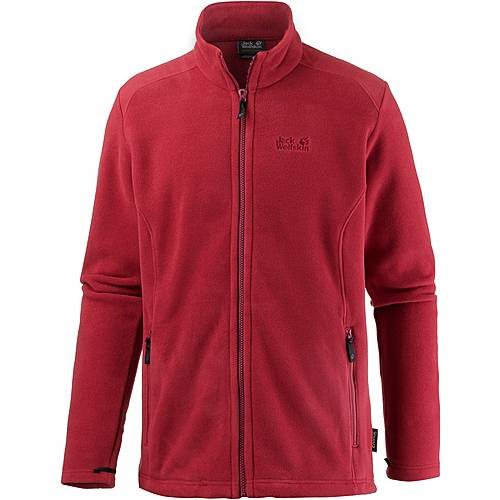 Jack Wolfskin Midnight Moon Fleecejacke Herren indian red