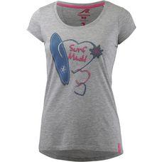 Maui Wowie T-Shirt Damen hellgrau