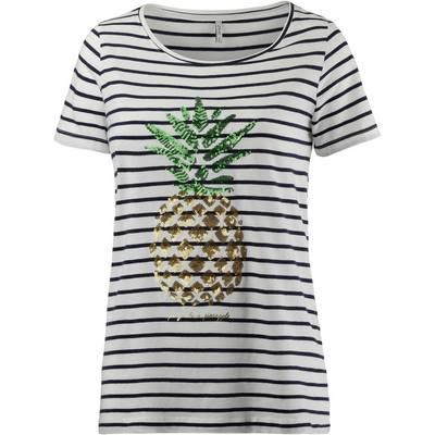 Only Kita T-Shirt Damen ecru