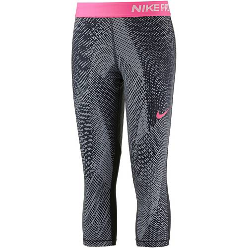 Nike Tights Kinder BLACK/BLACK/RACER PINK/RACER PINK