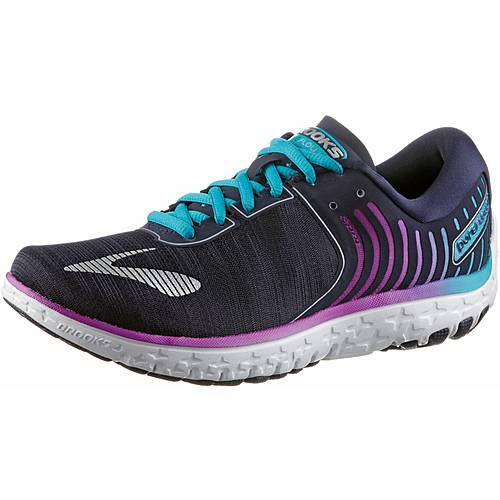 Brooks PureFlow 6 Laufschuhe Damen Evening Blue/Teal Victory/Island Blue