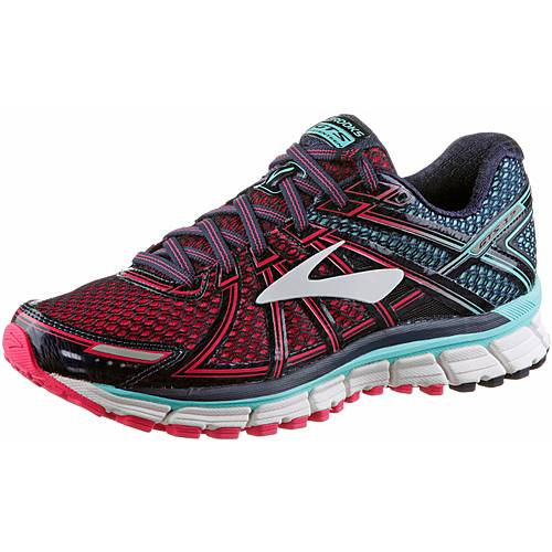 Brooks Adrenaline GTS 17 Laufschuhe Damen Limpet Shell/Evening Blue/Virtual Pink