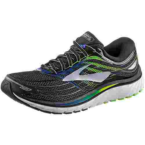 Brooks Glycerin 15 Laufschuhe Herren Black/Electric Brooks Blue/Green Gecko