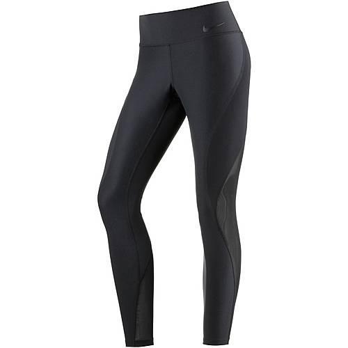 Nike Power Legend Tights Damen BLACK/BLACK/WHITE