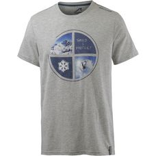 Maui Wowie T-Shirt Herren grau melange