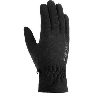 Ziener Fleece Handschuhe black