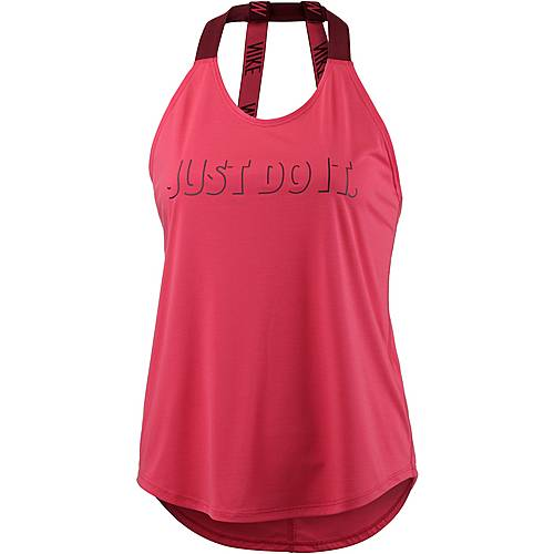 Nike Breathe Elastica Funktionstank Damen LT FUSION RED/TEAM RED/TEAM RED