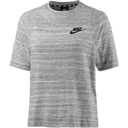 Nike Advanced Knit T-Shirt Damen WHITE/BLACK