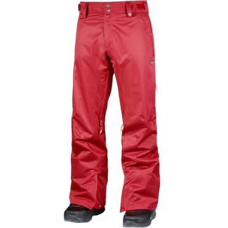 Zimtstern Typerz Herringbone Snowboardhose Herren Tango Red