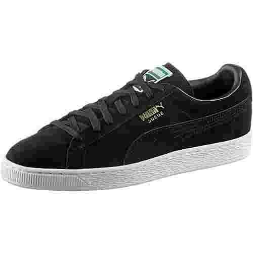 PUMA Suede Classic + Sneaker black-team gold-white