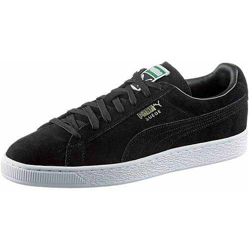 PUMA Suede Classic + Sneaker black-team gold-white