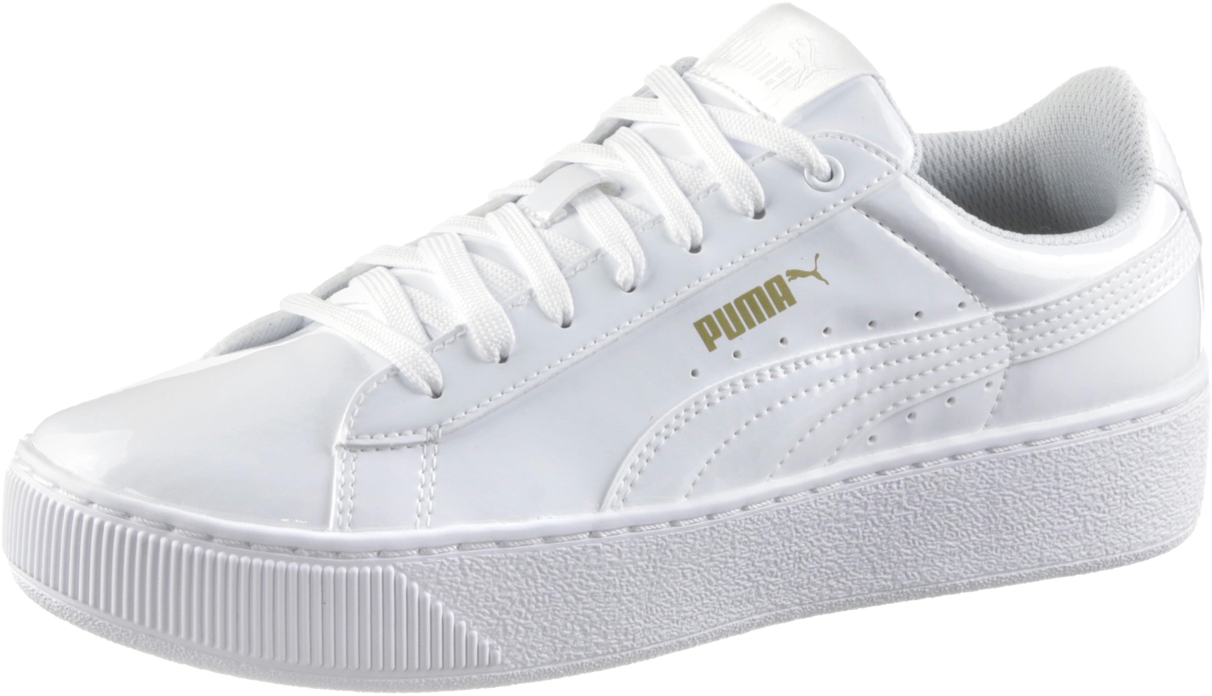 PUMA Puma Vikky Platform Patent Sneaker Damen Puma White-Puma White im  Online Shop von SportScheck kaufen