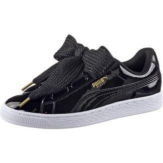 69224b5a515ca9 PUMA Basket Heart Patent Sneaker Damen Puma Black-Puma Black