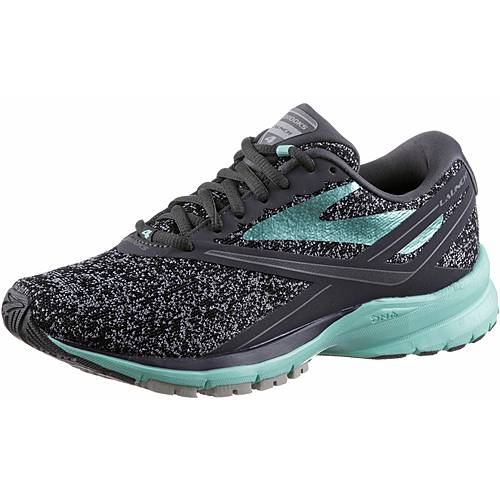 Brooks Launch 4 Laufschuhe Damen Anthracite/Beach Glass/Silver