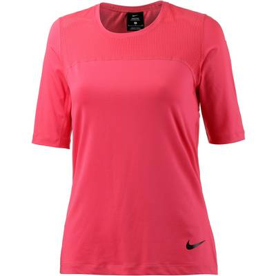 Nike Pro Hypercool Funktionsshirt Damen LT FUSION RED/BLACK