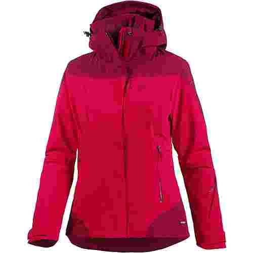 Salomon Icerocket Skijacke Damen jalapenobeet red im Online Shop von SportScheck kaufen