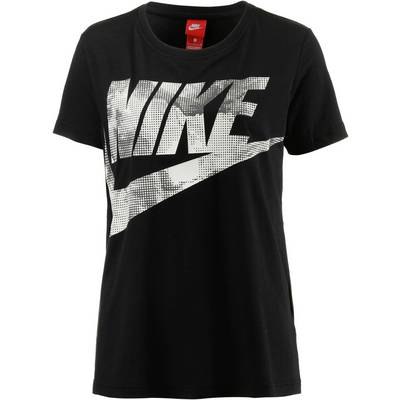 Nike Glacier T-Shirt Damen BLACK/MIDNIGHT FOG/LIGHT BONE