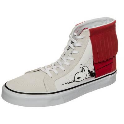 Vans Sk8-Hi Reissue Vans x Peanuts Sneaker rot / beige