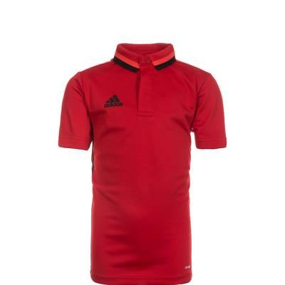 adidas Condivo 16 ClimaLite Poloshirt Kinder rot / schwarz