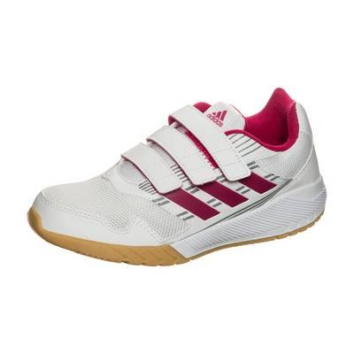 adidas AltaRun Laufschuhe Kinder weiß / pink