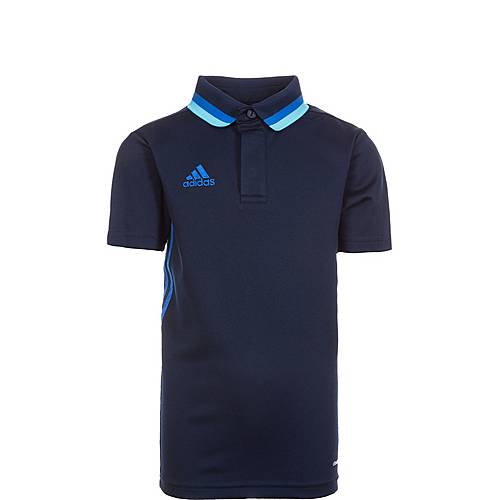 adidas Condivo 16 ClimaLite Poloshirt Kinder dunkelblau / blau