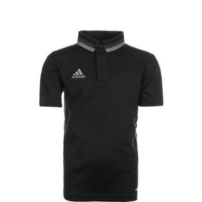 adidas Condivo 16 ClimaLite Poloshirt Kinder schwarz / grau