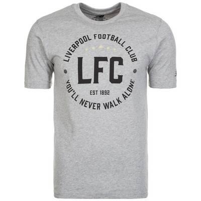 NEW BALANCE FC Liverpool Fanshirt Herren grau