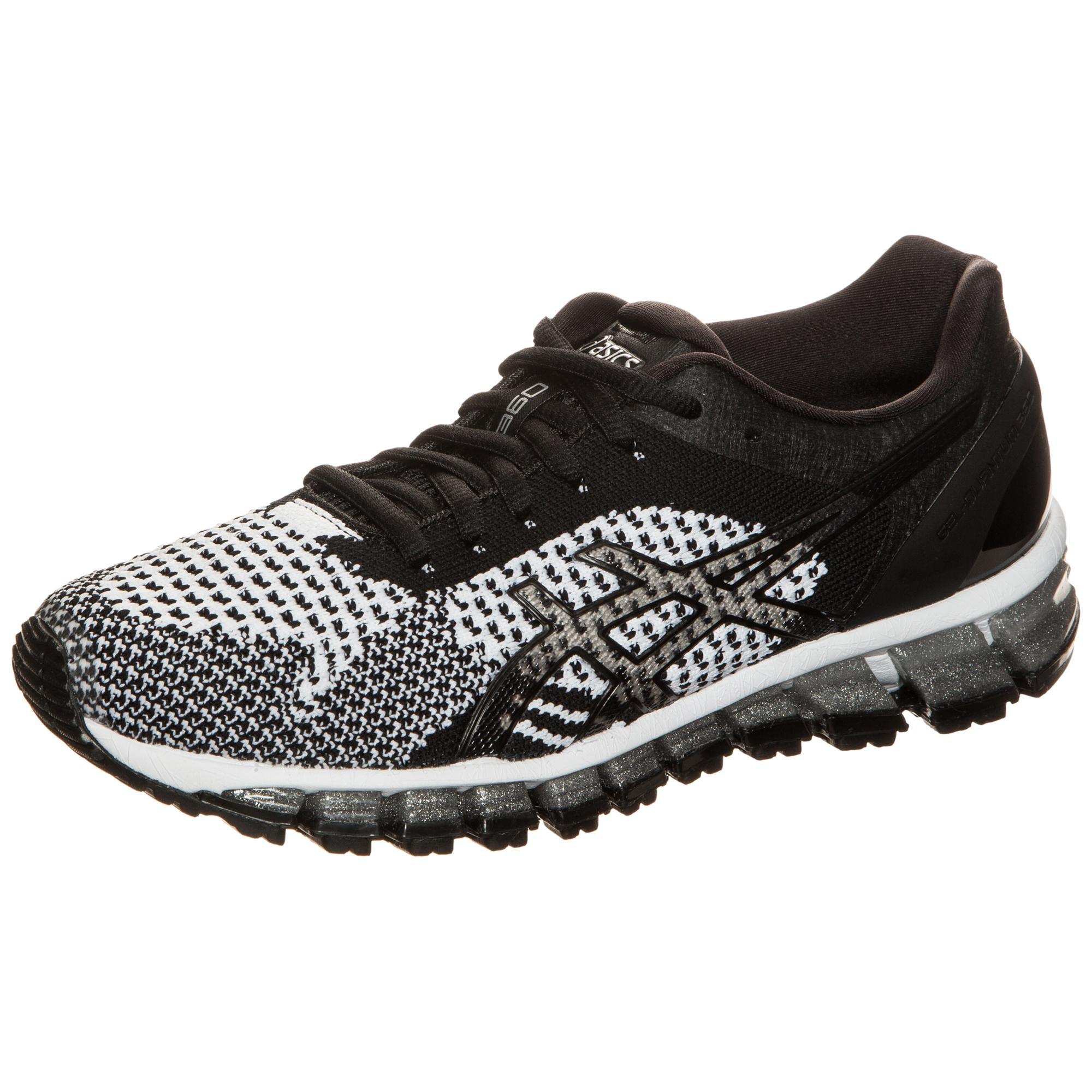 ASICS Gel-Quantum 360 Knit Laufschuhe Damen schwarz / weiß im Online Shop von SportScheck kaufen