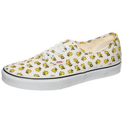 Vans Authentic Vans x Peanuts Sneaker Damen weiß / gelb
