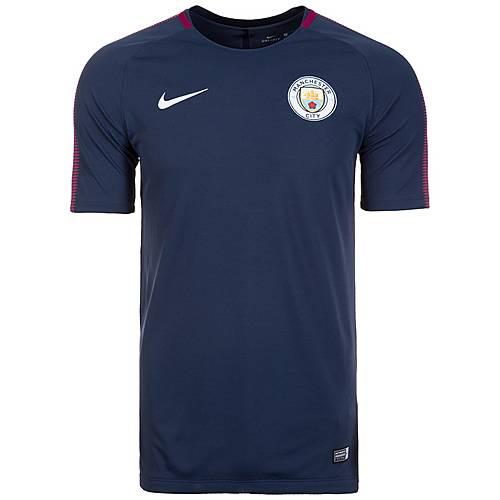Nike Manchester City Breathe Squad Fanshirt Herren dunkelblau