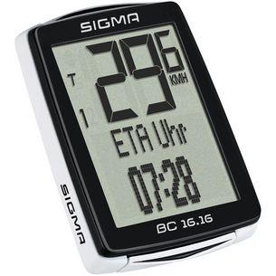 SIGMA BC 16.16 Fahrradcomputer schwarz-weiß