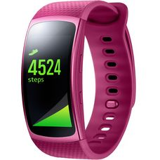 Samsung Gear Fit 2 Fitness Tracker pink