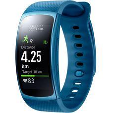 Samsung Gear Fit 2 Fitness Tracker blau