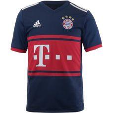 adidas FC Bayern 17/18 Auswärts Fußballtrikot Kinder collegiate navy