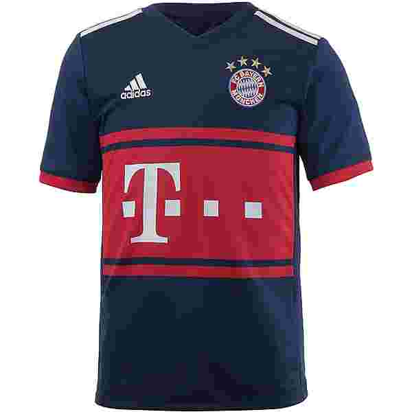 adidas FC Bayern 17/18 Auswärts Trikot Kinder collegiate navy