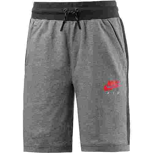 Nike Shorts Kinder CARBON HEATHER/ANTHRACITE/SIREN RED