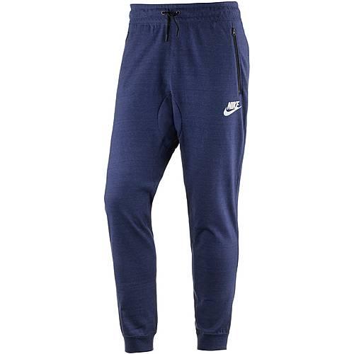 Nike NSW AV15 Sweathose Herren BINARY BLUE/HTR/WHITE