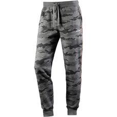 DIESEL Sweathose Herren grau camouflage