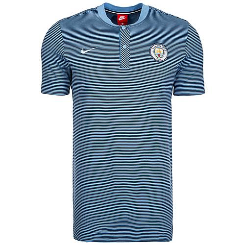 Nike Manchester City Modern Authentic Poloshirt Herren blau / hellblau