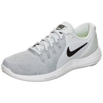 Nike Lunar Apparent Laufschuhe Damen hellgrau / weiß
