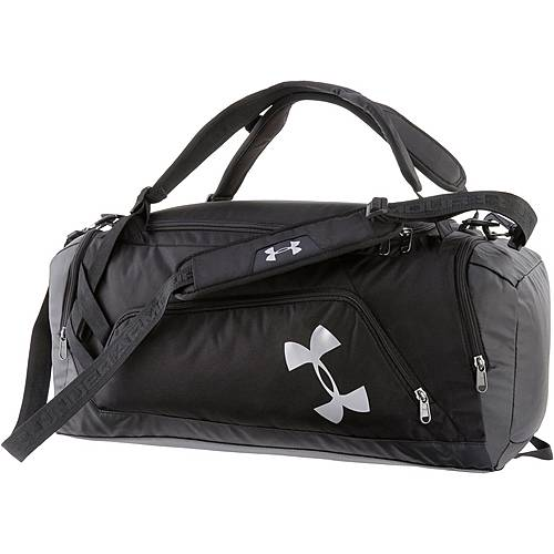 Under Armour Contain Duo+ Sporttasche Herren BLACK / BLACK / SILVER