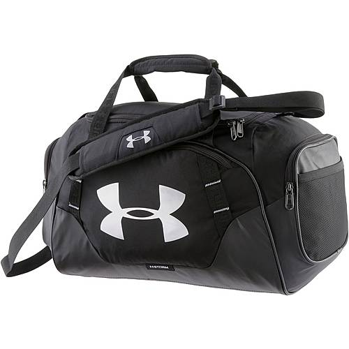 Under Armour Undeniable Duffle Sporttasche Herren BLACK / BLACK / SILVER