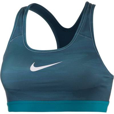 Nike Pro Classic Sport-BH Damen SPACE BLUE/BLUSTERY/PURE PLATINUM